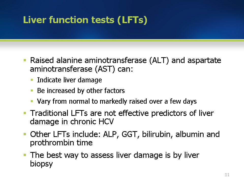 Module 4 The Main Types Of Test Relevant To The Diagnosis And