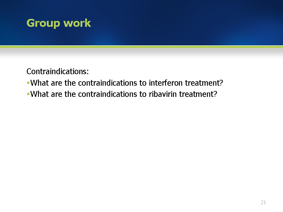 module 6 contraindications to treatment and re treatment